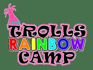 Trolls Rainbow Camp Logo
