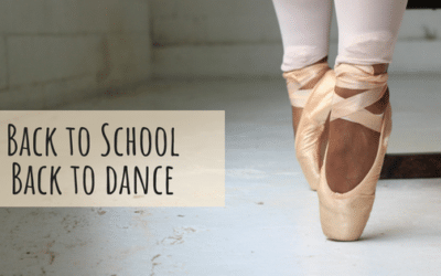 Back to School and Back to Dance