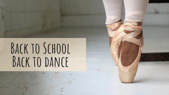 Back to School Back to Dance