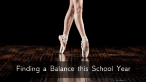 Finding a Balance this School Year