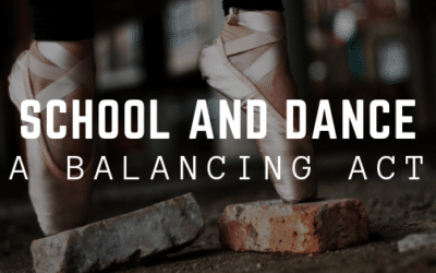 School and Dance: A Balancing Act